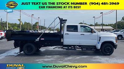 2020 Chevrolet Silverado 5500 Crew Cab DRW RWD, Knapheide Rigid Side Dump Body #LH584804 - photo 8