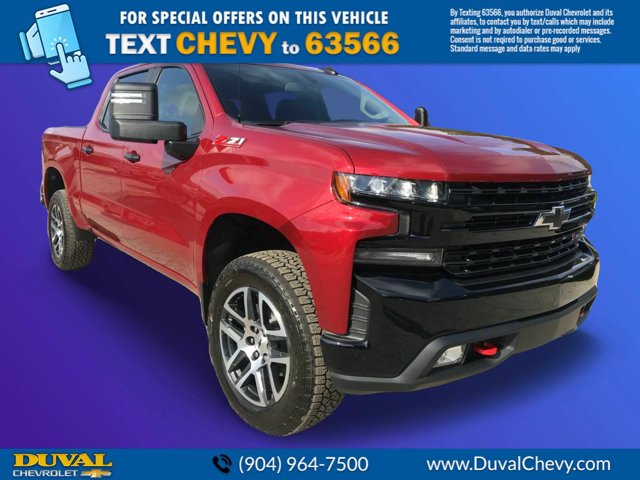 2020 Silverado 1500 Crew Cab 4x4, Pickup #LZ104471 - photo 1