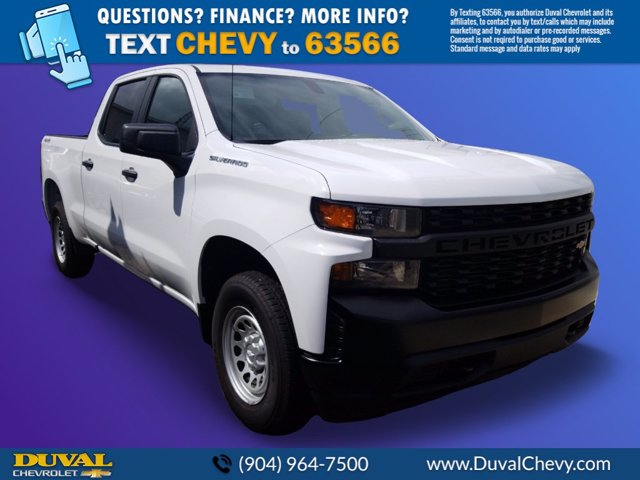 2020 Chevrolet Silverado 1500 Crew Cab 4x4, Pickup #LZ184720 - photo 1