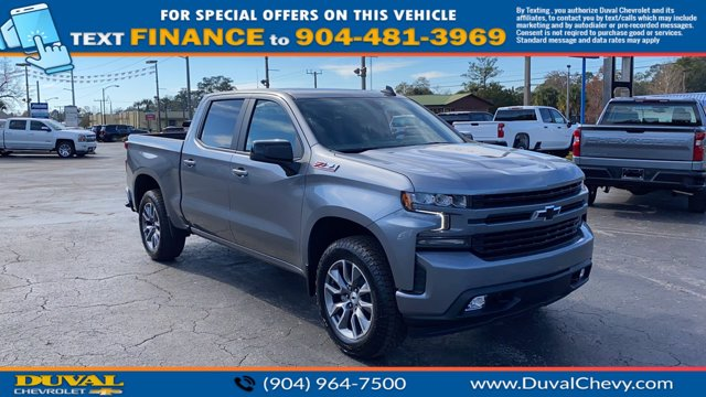 2021 Chevrolet Silverado 1500 Crew Cab 4x4, Pickup #MZ141917 - photo 1