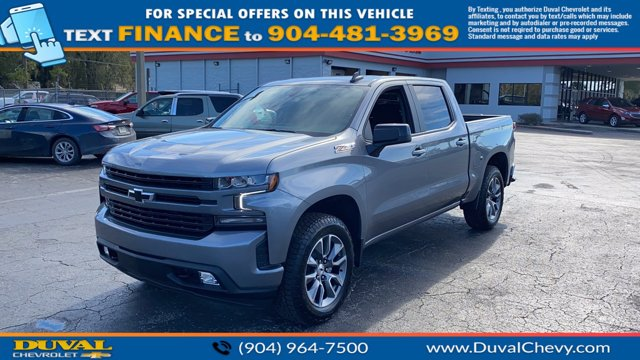 2021 Chevrolet Silverado 1500 Crew Cab 4x4, Pickup #MZ141917 - photo 4