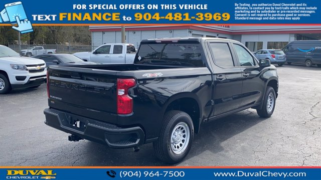 2021 Chevrolet Silverado 1500 Crew Cab 4x4, Pickup #MZ177579 - photo 2