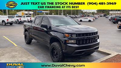 2021 Chevrolet Silverado 1500 Crew Cab 4x4, Pickup #MZ177579 - photo 1