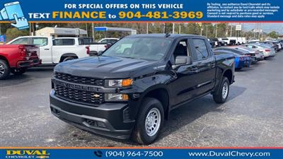 2021 Chevrolet Silverado 1500 Crew Cab 4x4, Pickup #MZ177579 - photo 4