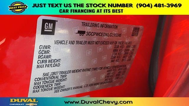 2020 Chevrolet Silverado 1500 Crew Cab 4x2, Pickup #PLG155245 - photo 31