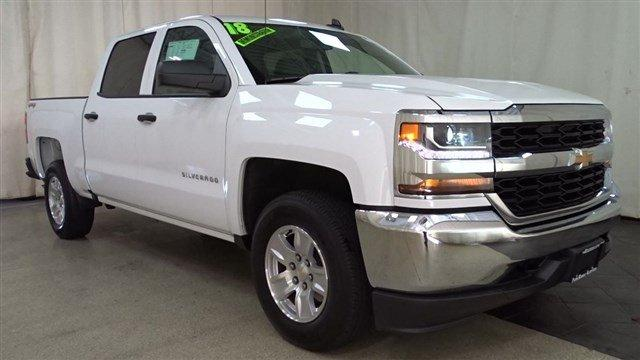 2018 Silverado 1500 Crew Cab 4x4,  Pickup #B24928 - photo 34