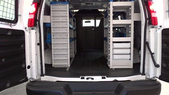 2018 Express 2500 4x2,  Masterack Upfitted Cargo Van #B25870 - photo 1
