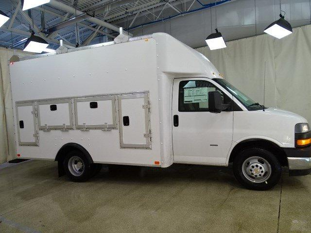 2019 Express 3500 4x2,  Bay Bridge Tool Pro Service Utility Van #B26233 - photo 3