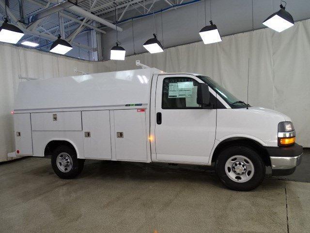 2019 Express 3500 4x2, Reading Aluminum CSV Service Utility Van #B26252 - photo 3