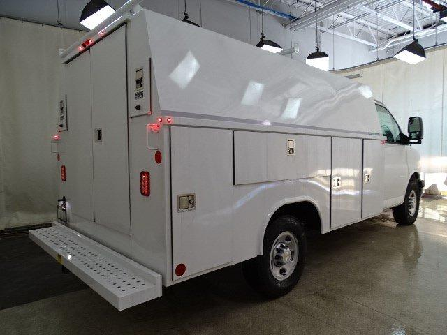 2019 Express 3500 4x2,  Reading Aluminum CSV Service Utility Van #B26252 - photo 2