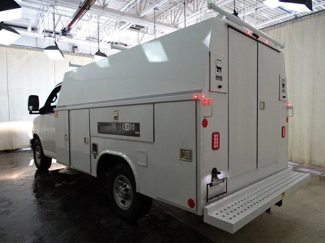 2019 Express 3500 4x2, Reading Aluminum CSV Service Utility Van #B26252 - photo 4