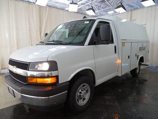 2019 Express 3500 4x2,  Reading Aluminum CSV Service Utility Van #B26252 - photo 5