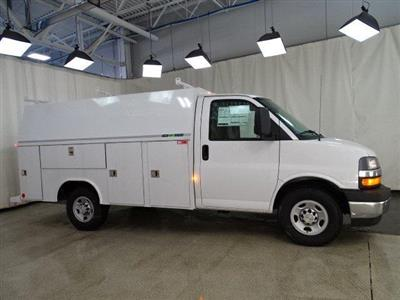 2019 Express 3500 4x2,  Reading Aluminum CSV Service Utility Van #B26252 - photo 3