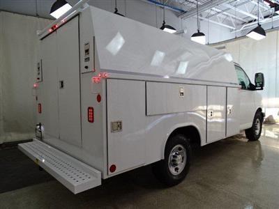 2019 Express 3500 4x2, Reading Aluminum CSV Service Utility Van #B26252 - photo 2