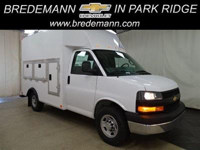 2019 Express 3500 4x2,  Bay Bridge Tool Pro Service Utility Van #B26333 - photo 1