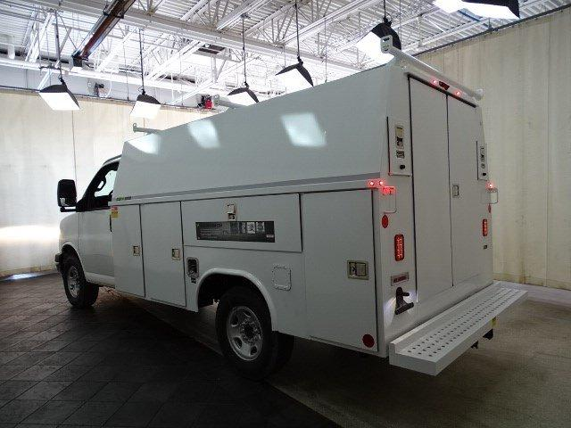 2019 Express 3500 4x2, Reading Aluminum CSV Service Utility Van #B26365 - photo 10