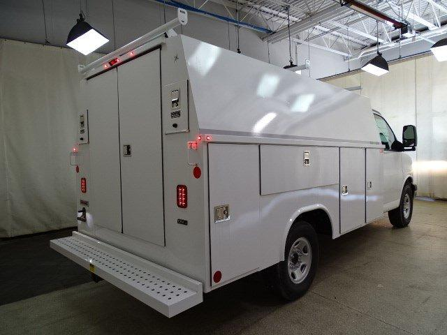 2019 Express 3500 4x2, Reading Aluminum CSV Service Utility Van #B26365 - photo 2