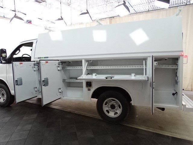 2019 Express 3500 4x2, Reading Aluminum CSV Service Utility Van #B26365 - photo 9