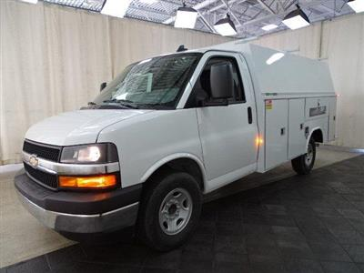 2019 Express 3500 4x2, Reading Aluminum CSV Service Utility Van #B26365 - photo 11