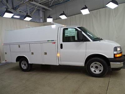 2019 Express 3500 4x2, Reading Aluminum CSV Service Utility Van #B26365 - photo 3