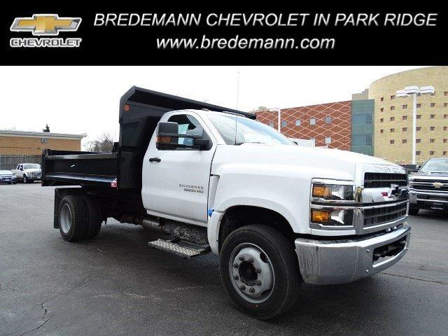 2019 Silverado Medium Duty DRW 4x2,  Monroe Dump Body #B26395 - photo 1