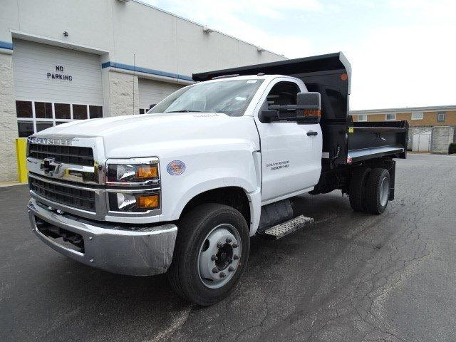 2019 Silverado Medium Duty DRW 4x2,  Monroe MTE-Zee Dump Body #B26395 - photo 6