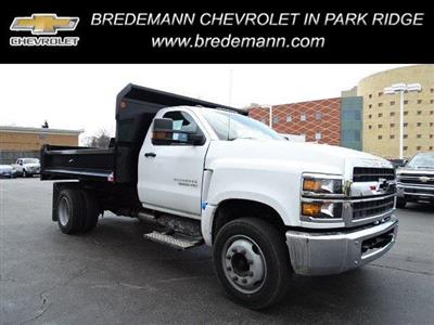 2019 Silverado Medium Duty DRW 4x2,  Monroe MTE-Zee Dump Body #B26395 - photo 1