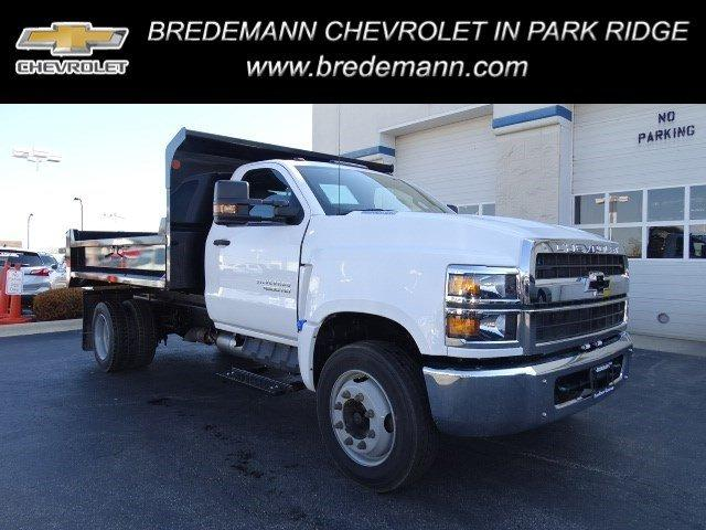 2019 Silverado Medium Duty Regular Cab DRW 4x2,  Monroe MTE-Zee Dump Body #B26414 - photo 1