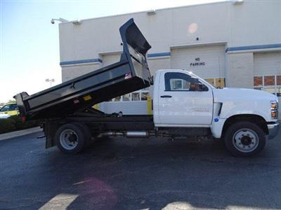2019 Silverado Medium Duty Regular Cab DRW 4x2,  Monroe MTE-Zee Dump Body #B26414 - photo 15