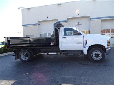 2019 Silverado Medium Duty Regular Cab DRW 4x2,  Monroe MTE-Zee Dump Body #B26414 - photo 3