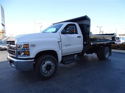 2019 Silverado Medium Duty Regular Cab DRW 4x2,  Monroe MTE-Zee Dump Body #B26414 - photo 5