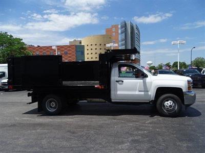 2019 Silverado 3500 Regular Cab DRW 4x4,  Reading Landscaper SL Landscape Dump #B26480 - photo 15