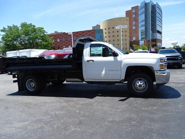 2019 Silverado 3500 Regular Cab DRW 4x2,  Knapheide Drop Side Dump Body #B26482 - photo 3