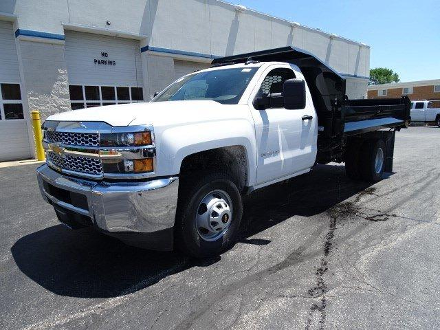 2019 Silverado 3500 Regular Cab DRW 4x2,  Knapheide Drop Side Dump Body #B26482 - photo 5