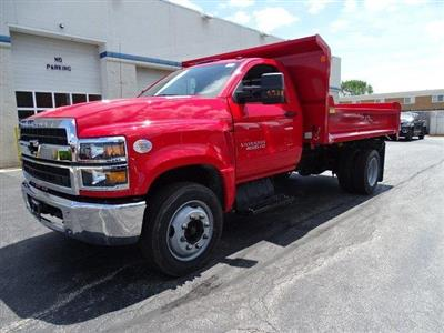 2019 Silverado Medium Duty Regular Cab DRW 4x2,  Monroe MTE-Zee Dump Body #B26496 - photo 5