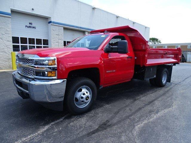2019 Silverado 3500 Regular Cab DRW 4x4, Knapheide Drop Side Dump Body #B26510 - photo 5