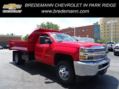2019 Silverado 3500 Regular Cab DRW 4x4, Knapheide Drop Side Dump Body #B26510 - photo 1