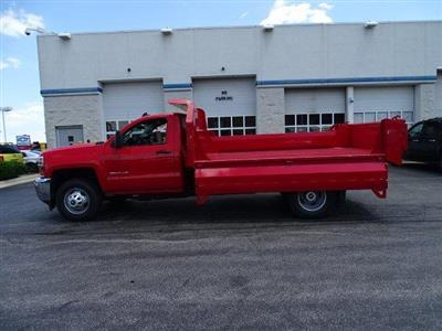 2019 Silverado 3500 Regular Cab DRW 4x4, Knapheide Drop Side Dump Body #B26510 - photo 14