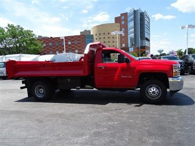 2019 Silverado 3500 Regular Cab DRW 4x4, Knapheide Drop Side Dump Body #B26510 - photo 3