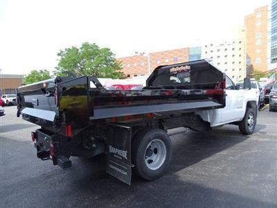 2019 Silverado 3500 Regular Cab DRW 4x4,  Knapheide Drop Side Dump Body #B26540 - photo 2