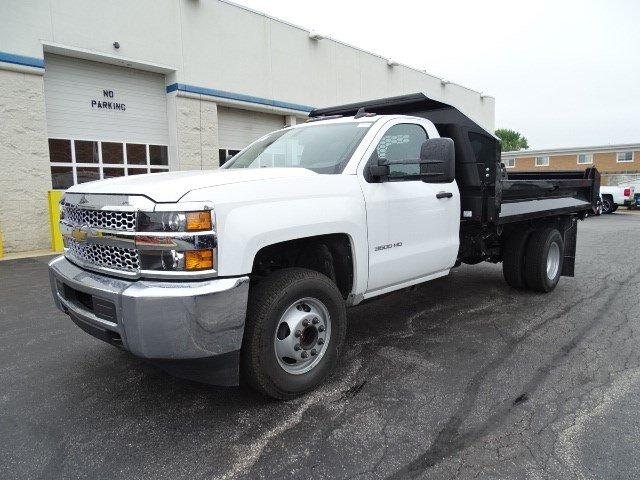 2019 Silverado 3500 Regular Cab DRW 4x2,  Knapheide Drop Side Dump Body #B26548 - photo 5