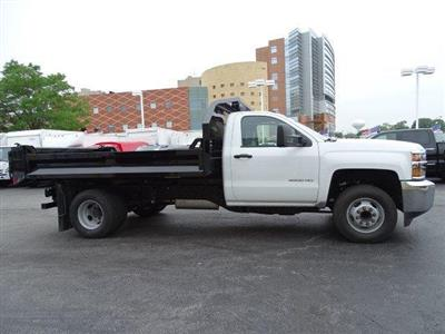 2019 Silverado 3500 Regular Cab DRW 4x2,  Knapheide Drop Side Dump Body #B26548 - photo 3