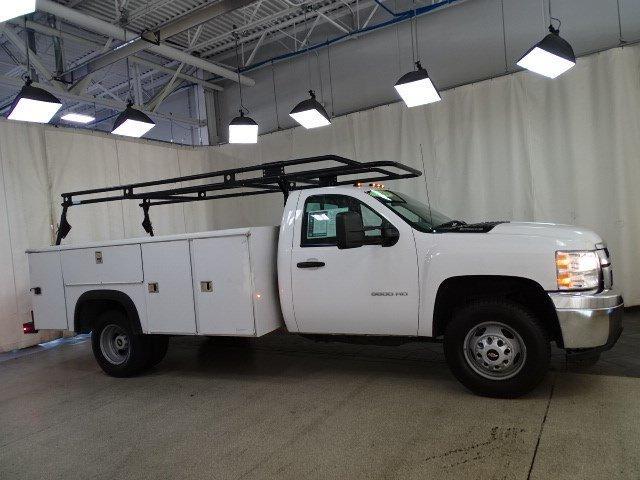 2014 Silverado 3500 Regular Cab 4x2,  Service Body #B26548A - photo 3