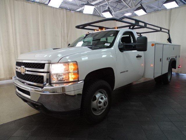 2014 Silverado 3500 Regular Cab 4x2,  Service Body #B26548A - photo 9