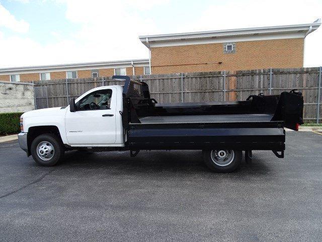 2019 Silverado 3500 Regular Cab DRW 4x4,  Knapheide Drop Side Dump Body #B26564 - photo 16