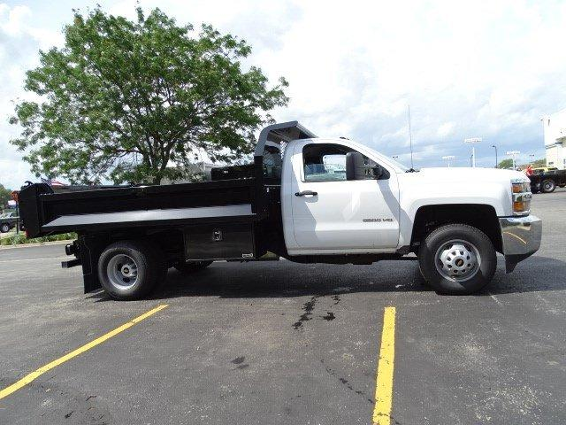 2019 Silverado 3500 Regular Cab DRW 4x4,  Knapheide Drop Side Dump Body #B26564 - photo 3