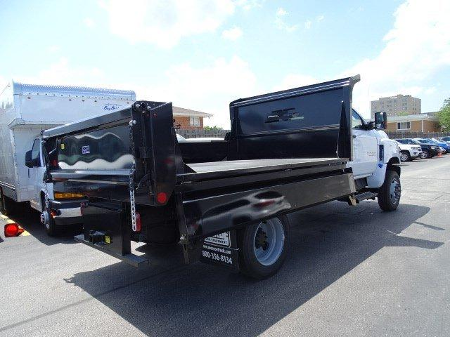 2019 Silverado 5500 Regular Cab DRW 4x4, Monroe Dump Body #B26695 - photo 1