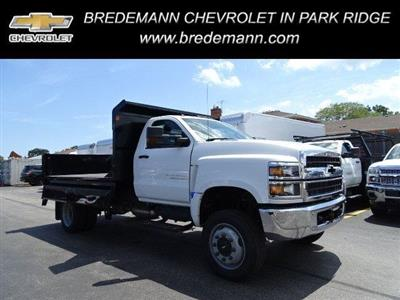 2019 Silverado Medium Duty Regular Cab DRW 4x4,  Monroe MTE-Zee Dump Body #B26695 - photo 1