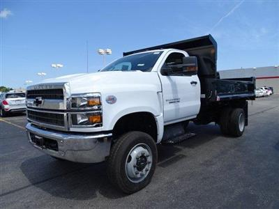 2019 Silverado Medium Duty Regular Cab DRW 4x4,  Monroe MTE-Zee Dump Body #B26695 - photo 5