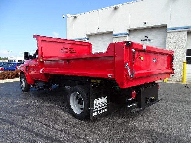 2019 Silverado 5500 Regular Cab DRW 4x2, Monroe MTE-Zee Dump Body #B26817 - photo 4